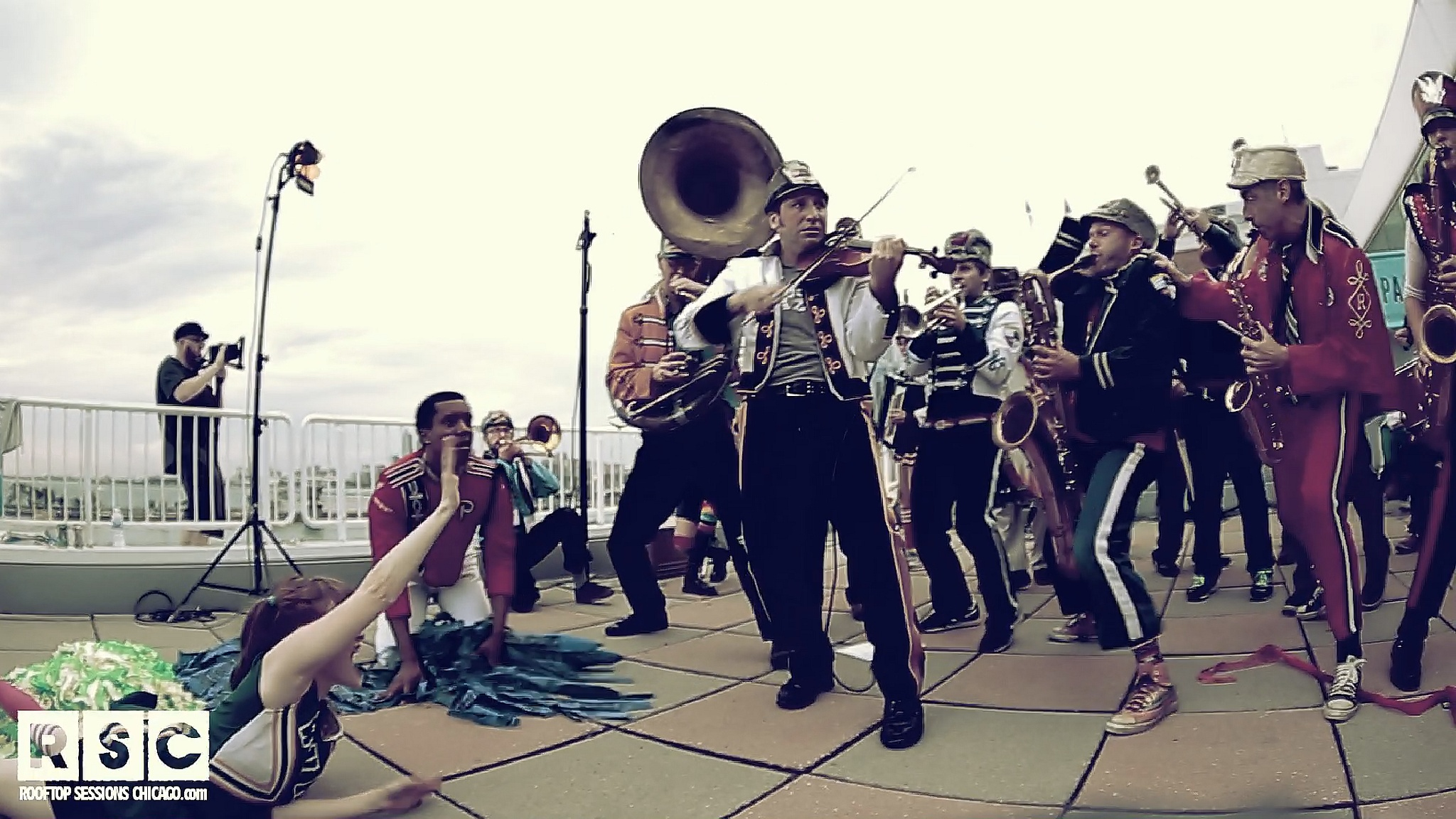 Mucca Pazza marches to an eclectic beat for WBEZ's High Fidelity Music Series!