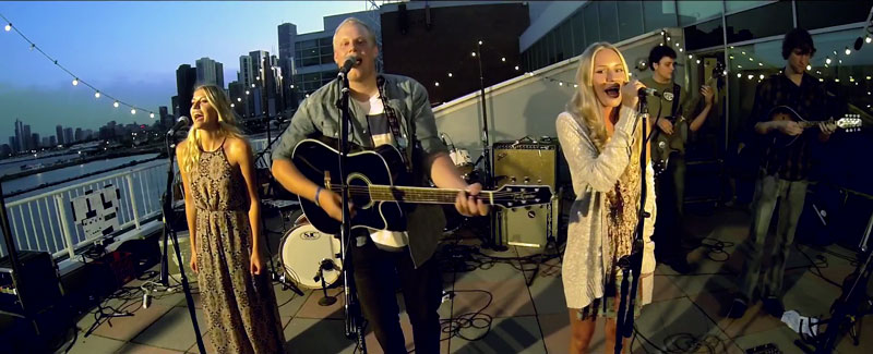 The Lulabelles shine on Navy Pier Terrace for ongoing High Fidelity Music Series!